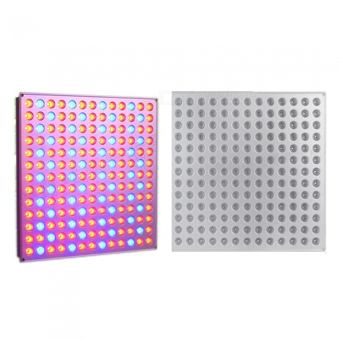 45W LED Plant Growth Lamp Nursery Special 169-LED Red Blue LightColorRed + blueMaterialAluminum alloy + LED lightQuantity1 setPowerOthers,45WRated VoltageAC 100-240 VConnector TypeOthers,-Chip BrandOthers,-Emitter TypeLEDTotal Emitters169Color BINOthers,Red + blueColor Temperature12000K,Others,-DimmableNoPacking List1 x LED light1 x Power adapter<br>