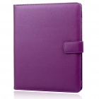 Protective PU Leather Case for   Ipad - Purple