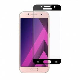 Dayspirit Tempered Glass Film for Samsung Galaxy A3 (2017) A320 - Black