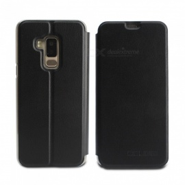 OCUBE Protective Flip-open PU Leather Case for Bluboo S8/S8 Lite 5.7 Inches - Black
