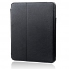 Protective Ultrathin PU Leather Case for   Ipad - Black