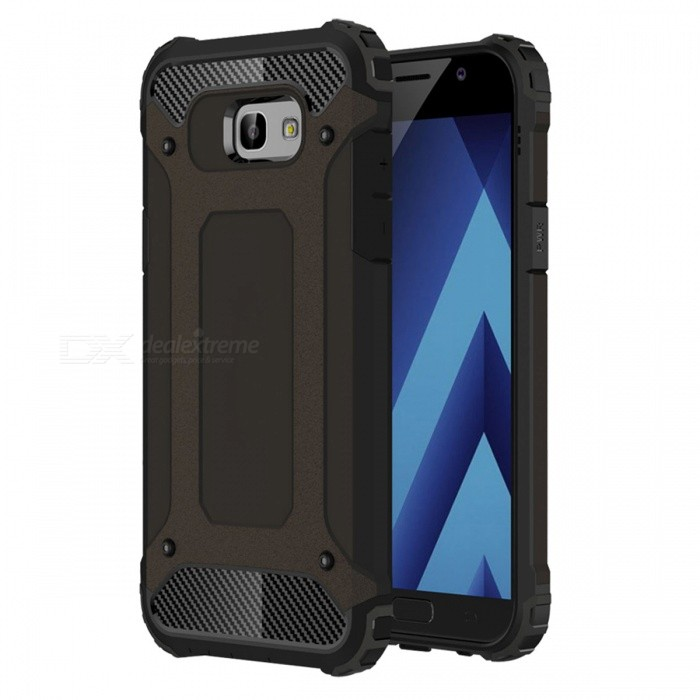 Dayspirit King Kong Armor Style Shockproof Anti-Scratch Protective Back Cover Case for Samsung Galaxy A7 (2017) , A720TPU Cases<br>ColorBlackModelN/AMaterialTPUQuantity1 pieceShade Of ColorBlackCompatible ModelsSamsung Galaxy A7 (2017) , A720Packing List1 x Case<br>