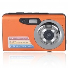 "5MP CMOS Compact Digital Video Camera w/ 8X Digital Zoom/SD Slot/TV Out - Orange (3.0"" LTPS LCD)"