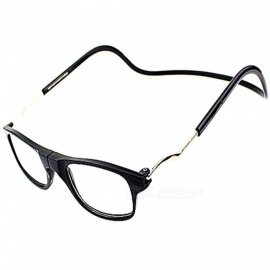 Magnetic Adsorption Neck Hanging 3.0 Diopter Reading Glasses Presbyopic Glasses for the Elderly