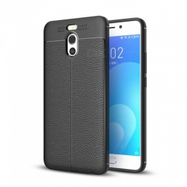 Dayspirit Lichee Pattern TPU Case for Meizu M6 Note - Black