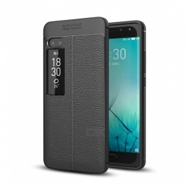 Dayspirit Lichee Pattern TPU Back Case for Meizu Pro 7 Plus - Black