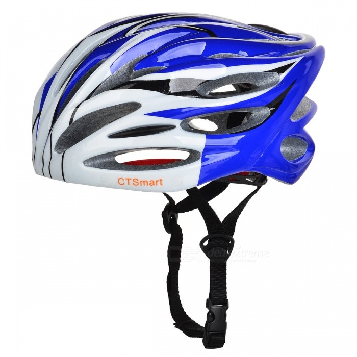 CTSmart Lightweight Outdoor Riding Cap, One-piece Safety Helmet - White + Purple (One Size)Helmets<br>ColorWhite + PurpleQuantity1 pieceMaterialEPS + PCHead Circumference58-62 cmSuitable forAdultsGenderUnisexBest UseCycling,Mountain Cycling,Recreational Cycling,Road Cycling,Triathlon,Bike commuting &amp; touring,Cross-trainingPacking List1 x Helmet<br>
