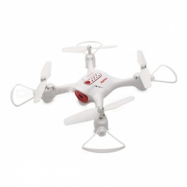 Syma X23 2.4GHz 4CH Altitude Holder Headless Mode Fashion 3D Flip Quadcopter Helicopter Mini Drone without Camera - White