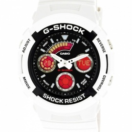 Casio G-Shock AW-591SC-7A Analog Digital Men's Quartz Sport Watch - White