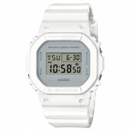 Casio G-Shock DW-5600CU-7 Digital Stopwatch Time Brand Sport Watch - White