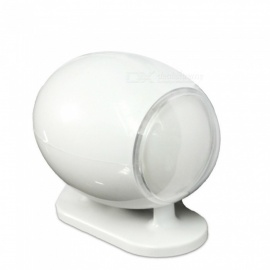 Portable Speaker, 3.5mm USB Computer Loudspeaker Music Player - white