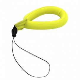 Ismartdigi i208-1 Buoyancy Wristband Neck Loop Rope for Gopro Hero 2 3 3+ 4 Session 5 6 SJ4000 - Yellow