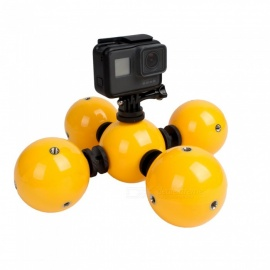Ismartdigi i453 Float Ball Set for Gopro Hero 2 3 3+ 4 Session 5 6 SJ4000 LED Light - Yellow