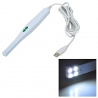 USB 50X 1/4 CMOS 4MP Probe Format Dental Camera with 4-LED Illumination