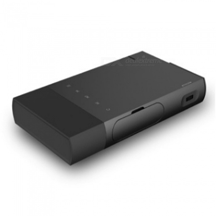 S1 Portable Mini HD Projector DLP Sync Wired Display for 1080P with HDMI USB TF Integrated ProjectorProjectors<br>ColorblackBrandOthers,NoModelS1Quantity1 pieceMaterialABSShade Of ColorBlackOperating SystemNoTypeDLPBrightness1000~1999 lumensBrightness80 lumensMenu LanguageEnglish,French,German,Italian,Spanish,Portuguese,Russian,Vietnamese,Greek,Danish,Turkish,Japanese,Bahasa Indonesia,Maltese,Malay,Czech,Romanian,Chinese Simplified,Chinese TraditionalDisplay Size15-100inchAspect RatioOthers,4:3/16:9Maximum ResolutionUnder 720PThrow Distance0.5-3MExternal Memory32GBAudio FormatsMP3,WMA,APE,FLAC,OGG,AC3,DTSVideo FormatsRM,RMVB,AVI,MKV,M4VPicture FormatsJPEG,BMP,PNG,GIFInput ConnectorsHDMIPower Consumption20~39WPower Supply12V1.5APower AdapterEU PlugPacking List1 x S1 Mini DLP Projector1 x Power Adapter1 x Remote Control1 x USB Cable1 x User Manual<br>