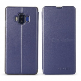 OCUBE Protective Flip-open PU Leather Case for VKworld S8 5.99 Inches - Blue