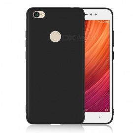 Dayspirit Protective Matte Frosted TPU Back Case for Xiaomi Redmi Y1 (Note 5A Prime) - Black
