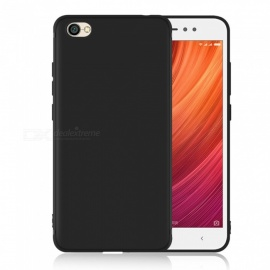 Dayspirit Protective Matte Frosted TPU Back Case for Xiaomi Redmi Y1 Lite (Note 5A) - Black