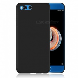 Dayspirit Protective Matte Frosted TPU Back Case for Xiaomi Mi Note 3 - Black