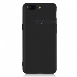 Dayspirit Protective Matte Frosted TPU Back Case for OnePlus 5T - Black