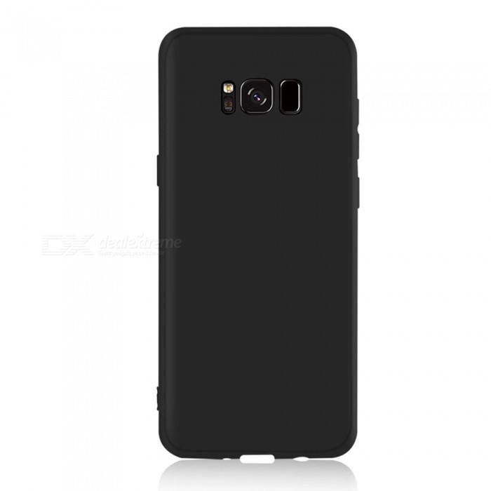 Dayspirit Protective Matte Frosted TPU Back Case for Samsung Galaxy S8 Plus - BlackTPU Cases<br>ColorBlackModelN/AMaterialTPUQuantity1 pieceShade Of ColorBlackCompatible ModelsSamsung Galaxy S8 PlusPacking List1 x Case<br>