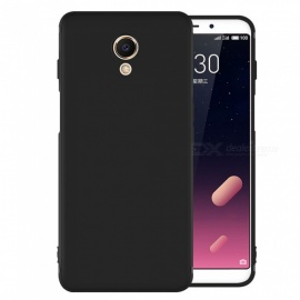 Dayspirit Protective Matte Frosted TPU Back Case for Meizu M6S - Black