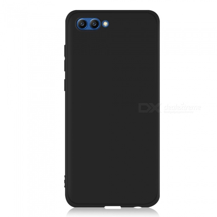 Dayspirit Protective Matte Frosted TPU Back Case for Huawei Honor View 10 - BlackTPU Cases<br>ColorBlackModelN/AMaterialTPUQuantity1 pieceShade Of ColorBlackCompatible ModelsHuawei Honor View 10Packing List1 x Case<br>