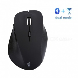 MODAO Ergonomic Designed Bluetooth 4.0 2.4GHz Wireless Mouse 6 Keys DPI Adjustable - Black