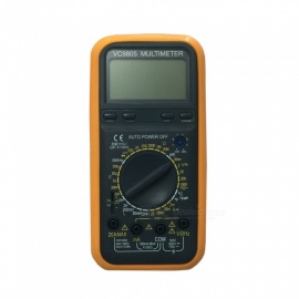 VC9805 LCD Handheld Digital Multimeter for Home and Car - Black