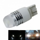 Zhishunjia T20 3W 300lm COB-LED Cold White Light Car Fog Lamp (10~30V)