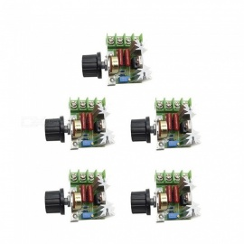ZHAOYAO 5PCS 2000W Thyristor High Power Electronic Voltage Regulation Boards