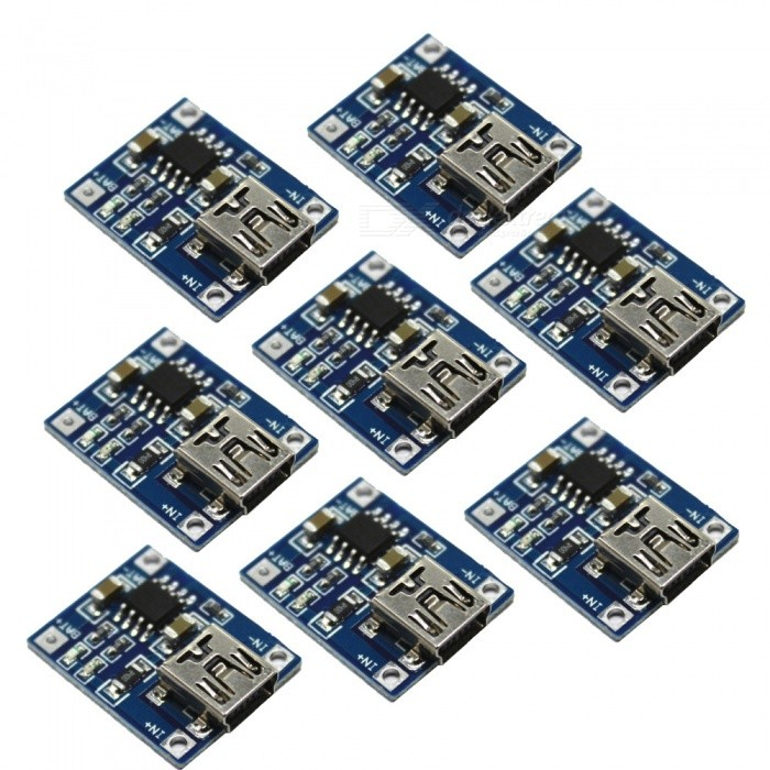 20PCS TP4056 1A Lithium Battery Charging Board Battery Charger Charging Module, Mini USB Interface