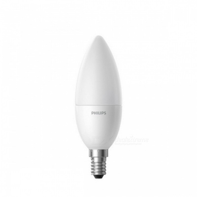 Original Xiaomi Philips Smart E14 LED Candle Bulb, Matte Version - Warm Light