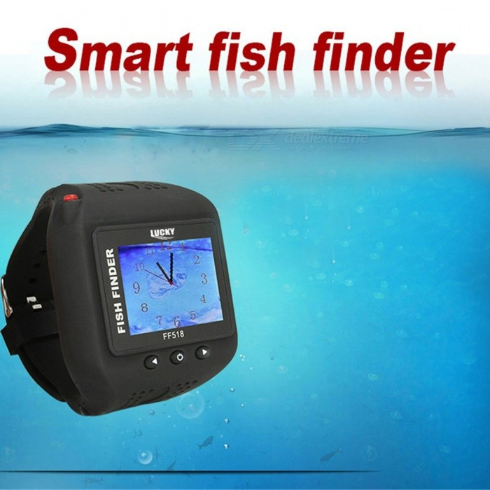 Lucky ff518 watch type sonar fish finder wireless for Lucky fish finder
