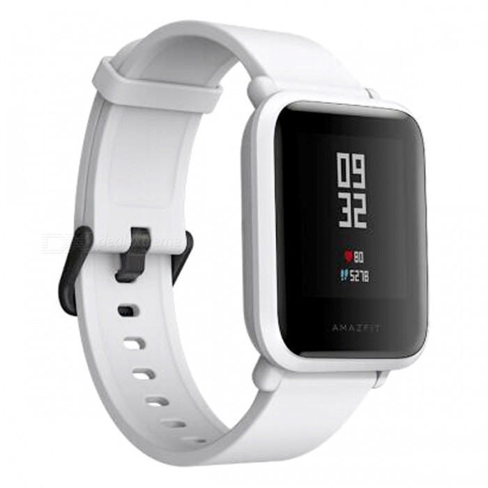 Xiaomi Huami Amazfit Bip BIT PACE Lite Youth Version Smart Watch - Grey (English Edition)Smart Watches<br>Form  ColorGreyModelA1608Quantity1 setMaterialPlastic cementShade Of ColorGrayCPU ProcessornoScreen Size1.28 inchScreen Resolution0Touch Screen TypeYesBluetooth VersionBluetooth V4.0Compatible OSandroid4.4ios8.0ios9.0ios10ios11LanguageEnglishWristband Length19.5 cmWater-proofIP68Battery ModeNon-removableBattery Capacity200 mAhStandby Time69 hoursPacking List1 x Watch1 x Recharge stand 1 x User Manual (Chinese)<br>