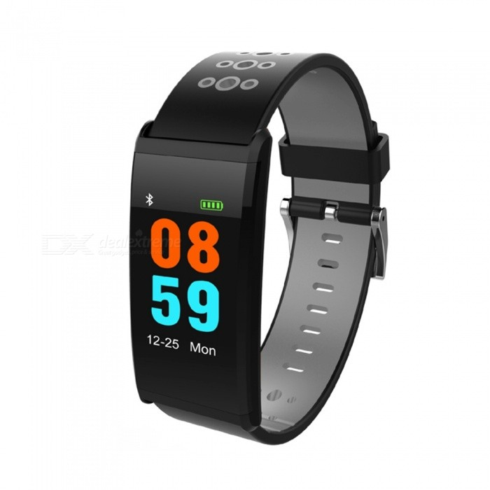 X20 0.96 Inches Color Screen Smart Band Bracelet w/ Blood Pressure Monitor, Fitness Tracker - BlackSmart Bracelets<br>ColorBlackQuantity1 setMaterialABSShade Of ColorBlackWater-proofIP68Bluetooth VersionBluetooth V4.0Touch Screen TypeYesCompatible OSBluetooth 4.0 Compatible (Android and IOS)Battery Capacity90 mAhBattery TypeLi-polymer batteryStandby Time5-7 daysPacking List1 x Smart watch1 x Charging cable1 x User Manual<br>
