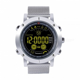 5ATM Waterproof Smart Clock Watch, Fitness Band with Step Pedometer / Stopwatch
