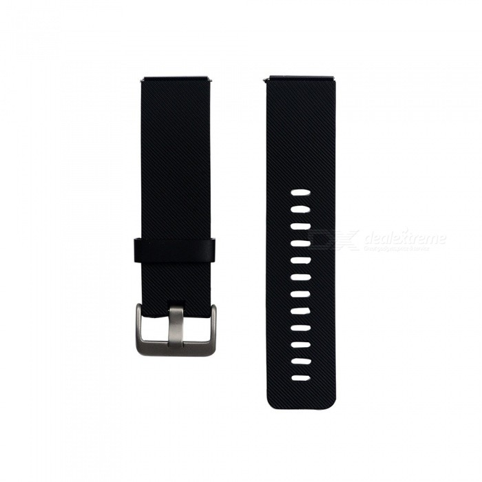 Smart Watch Color TPE Strap For Fitbit Blaze - BlackWearable Device Accessories<br>ColorBlackModelN/AQuantity1 setMaterialTPEPacking List1 x Strap (12.7cm)1 x Strap (10.6cm)<br>