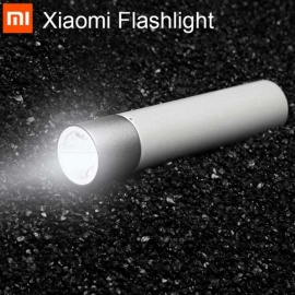 Original Xiaomi Portable Flashlight with 11 Adjustable Luminance Modes - White