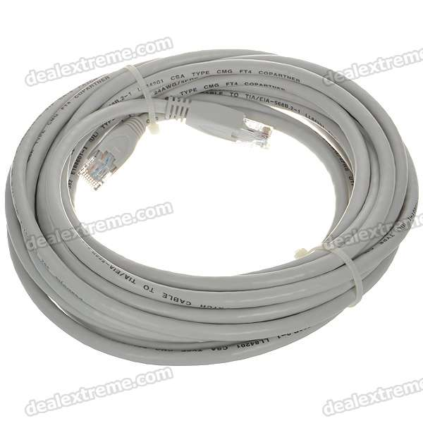 24AWG 4PRS Power Sync Cat 6 RJ-45 Network Line Cable (7M)