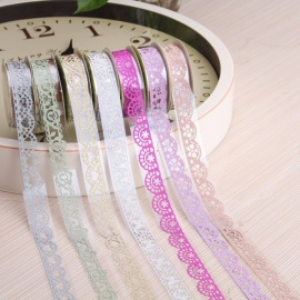 Decorative Hollow Lace Adhesive Tape