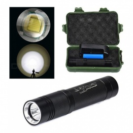ZHAOYAO XM-L T6 LED Diving Flashlight 100 Meters Waterproof Torch with Battery, Charger and Box