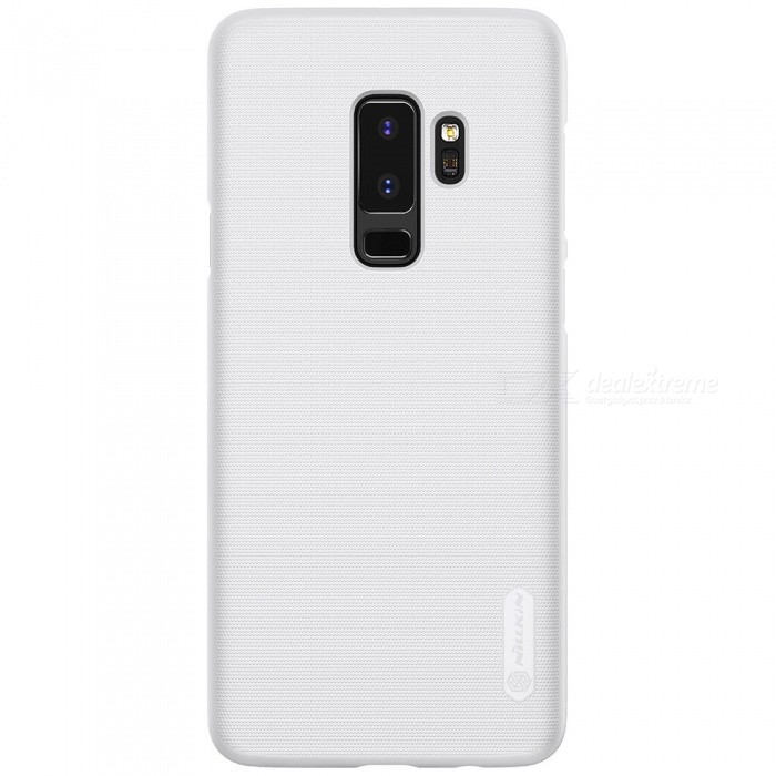 NILLKIN PC Hard Plastic Case for Samsung Galaxy S9 Plus - WhitePlastic Cases<br>ColorWhiteModelSamsung Galaxy S9+ModelNSXS9PLHD08MaterialPlasticQuantity1 pieceShade Of ColorWhiteFeaturesAnti-slip,Shock-proof,Abrasion resistanceCompatible ModelsSamsung Galaxy S9+Packing List1 x NILLKIN Super Frosted Shield1 x Screen Protector<br>