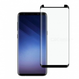 Dayspirit Full Screen Curved Tempered Glass Film Screen Protector for Samsung Galaxy S9+ , S9 Plus - Black