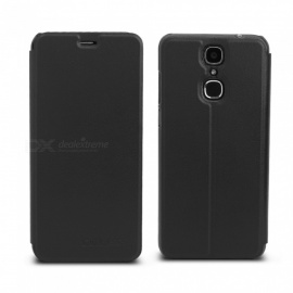 OCUBE Protective Flip-open PU Leather Case for Cubot X18 5.7 Inches- Black