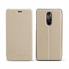 OCUBE Protective Flip-open PU Leather Case for Cubot R9 5.0 Inches - Golden