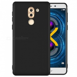 Dayspirit Protective Matte Frosted TPU Back Case for Huawei Honor 6X - Black