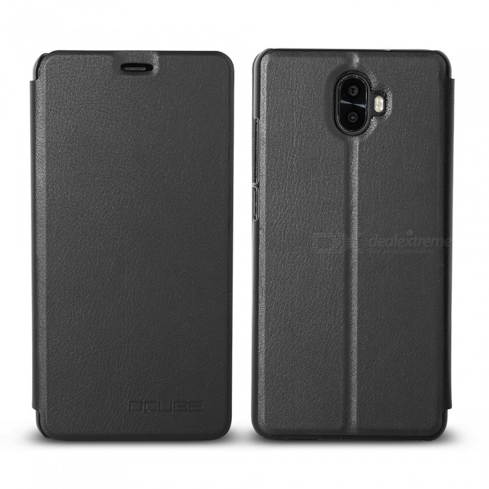 OCUBE Protective Flip-open PU Leather Case for Oukitel K8000 5.5 Inches - BlackLeather Cases<br>ColorBlackModelOukitel K8000MaterialPC+PUQuantity1 pieceShade Of ColorBlackCompatible ModelsOukitel K8000FeaturesAnti-slip,Dust-proof,Shock-proof,Abrasion resistancePacking List1 x Phone Case<br>