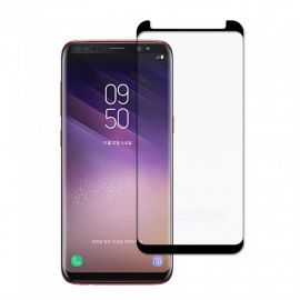 Dayspirit Full Screen Curved Tempered Glass Film Screen Protector for Samsung Galaxy S8 - Black