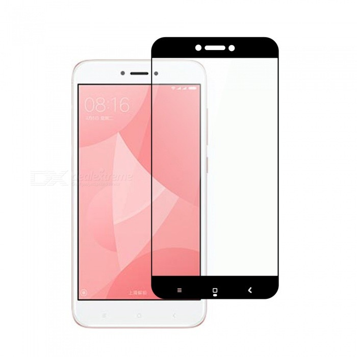 Dayspirit Tempered Glass Screen Protector for Xiaomi Redmi 4X - Black